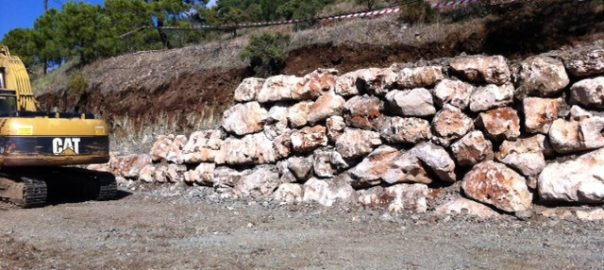 Muro rocalla El Madroñal